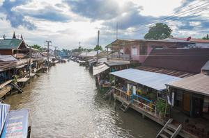曼谷水上市場 泰國水上市場 Amphawa Floating Market Samut Songkhram