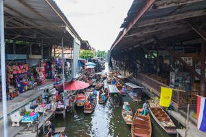 泰國水上市場 Damnoen Saduak Floating Market  水上市集 水上市場