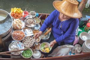 泰國水上市場 曼谷水上市場 Tha Kha Floating Market 塔喀