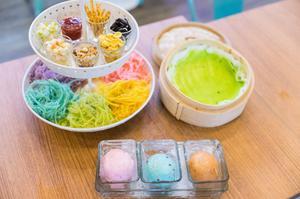 Roti Sai Mai 薄餅捲糖絲 大城府 曼谷甜點店