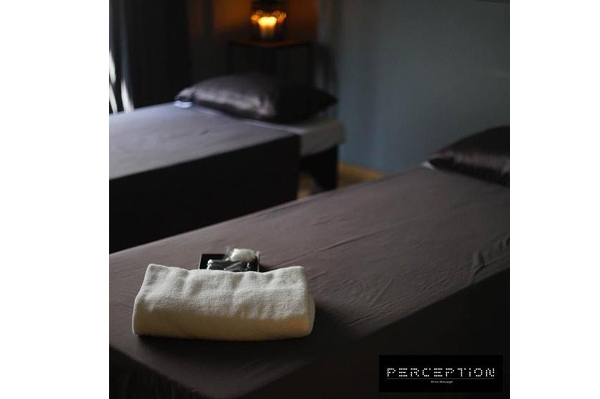 曼谷 盲人按摩 盲人 Spa Perception Blind Massage 盲人按摩 Perception Blind