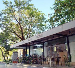 曼谷咖啡廳 曼谷腳踏車 曼谷wifi 法政大學