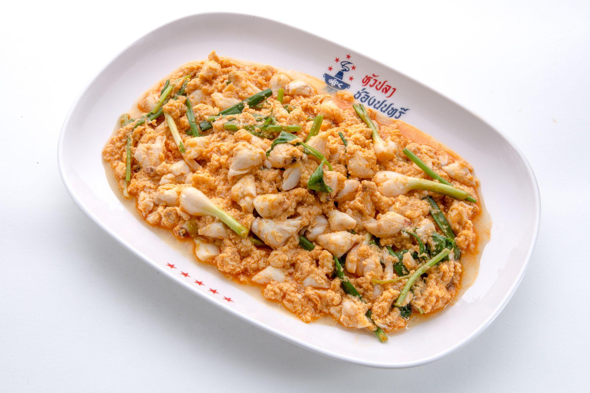 泰國魚頭爐推薦菜色之一,咖哩蟹深受客人喜愛。