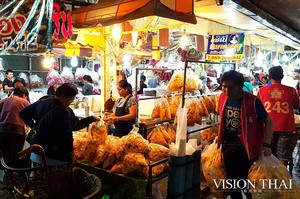 Talat Pak Klong 曼谷花市 曼谷老城區 曼谷市集