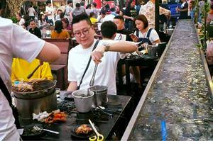 曼谷 流水蝦海鮮燒烤 流水蝦海鮮燒烤 泰國蝦吃到飽 泰國海鮮
