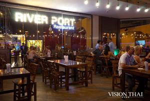 亞洲融合料理 River Port Restaurant RCB 河岸餐廳 河港餐廳
