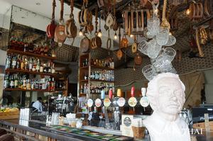 曼谷河城藝術古董中心 Viva & Aviv The River  河岸景觀餐廳  比瓦·阿维夫河岸餐廳