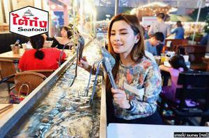 曼谷Taikong流水蝦海鮮餐廳(洽圖洽店)