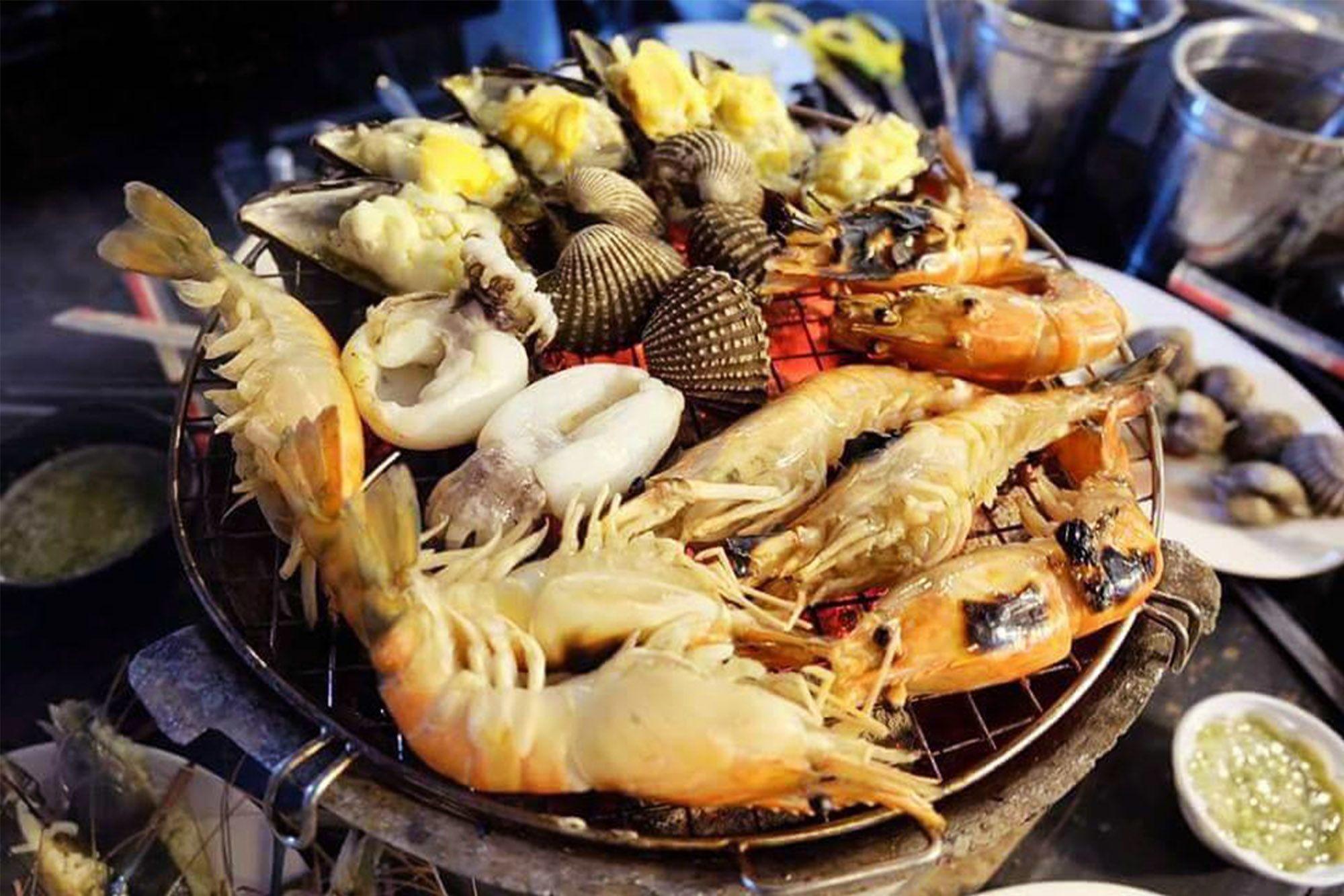 Taikong Seafood Buffet Jatujak 曼谷流水蝦 洽圖洽店 曼谷流水蝦海鮮燒烤 分店 曼谷 Taikong Seafood 曼谷 流水蝦燒烤