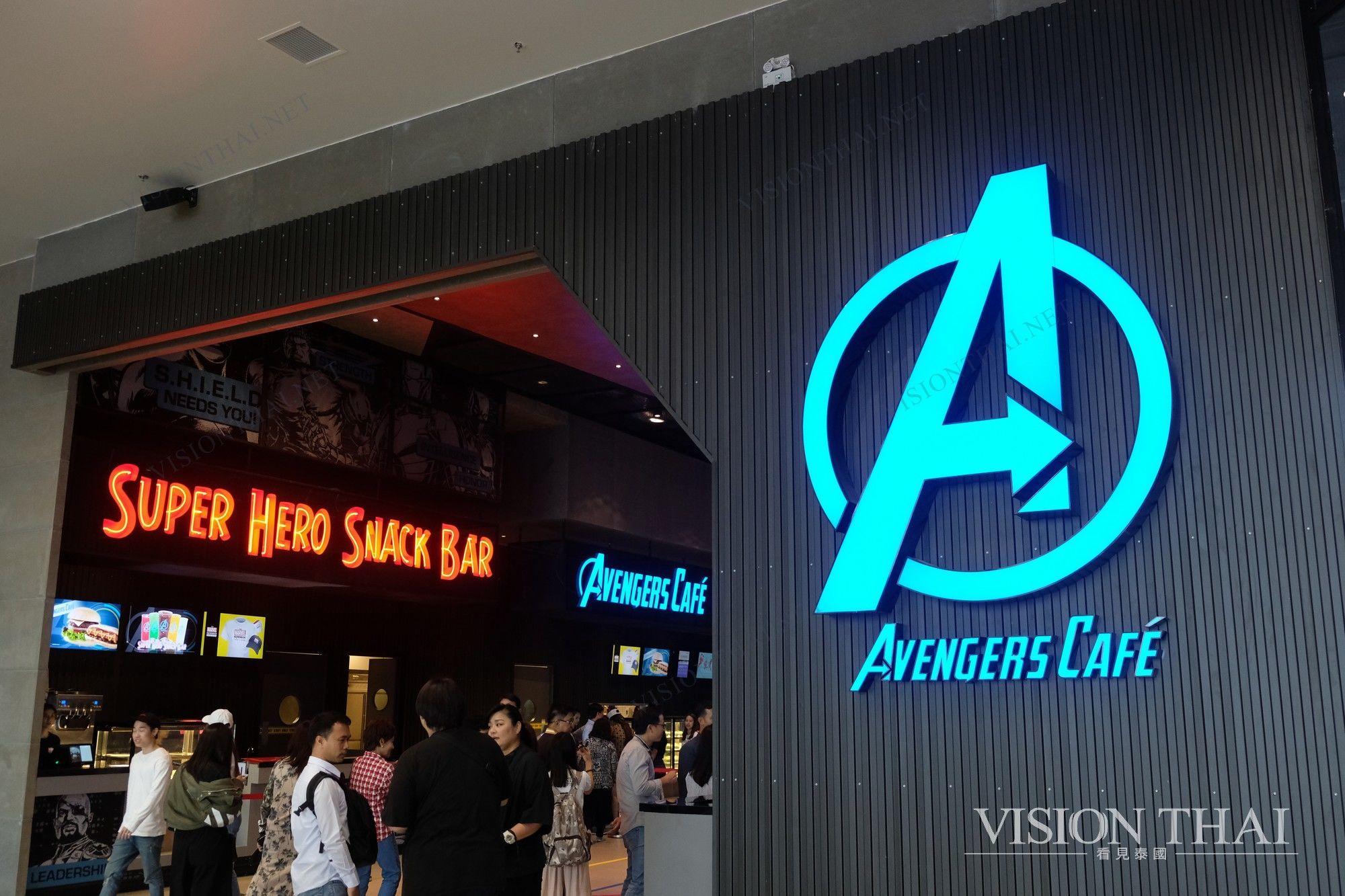 泰國漫威基地 Marvel marvel experience 漫威英雄 marvel thailand 泰國 漫威