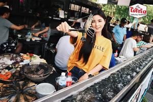 曼谷Taikong流水蝦海鮮餐廳 霓虹夜市店(Taikong Seafood Pratunam)