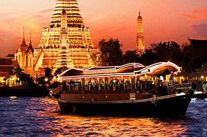 阿普沙拉 曼谷遊船 昭披耶河 晚餐 曼谷 昭披耶河