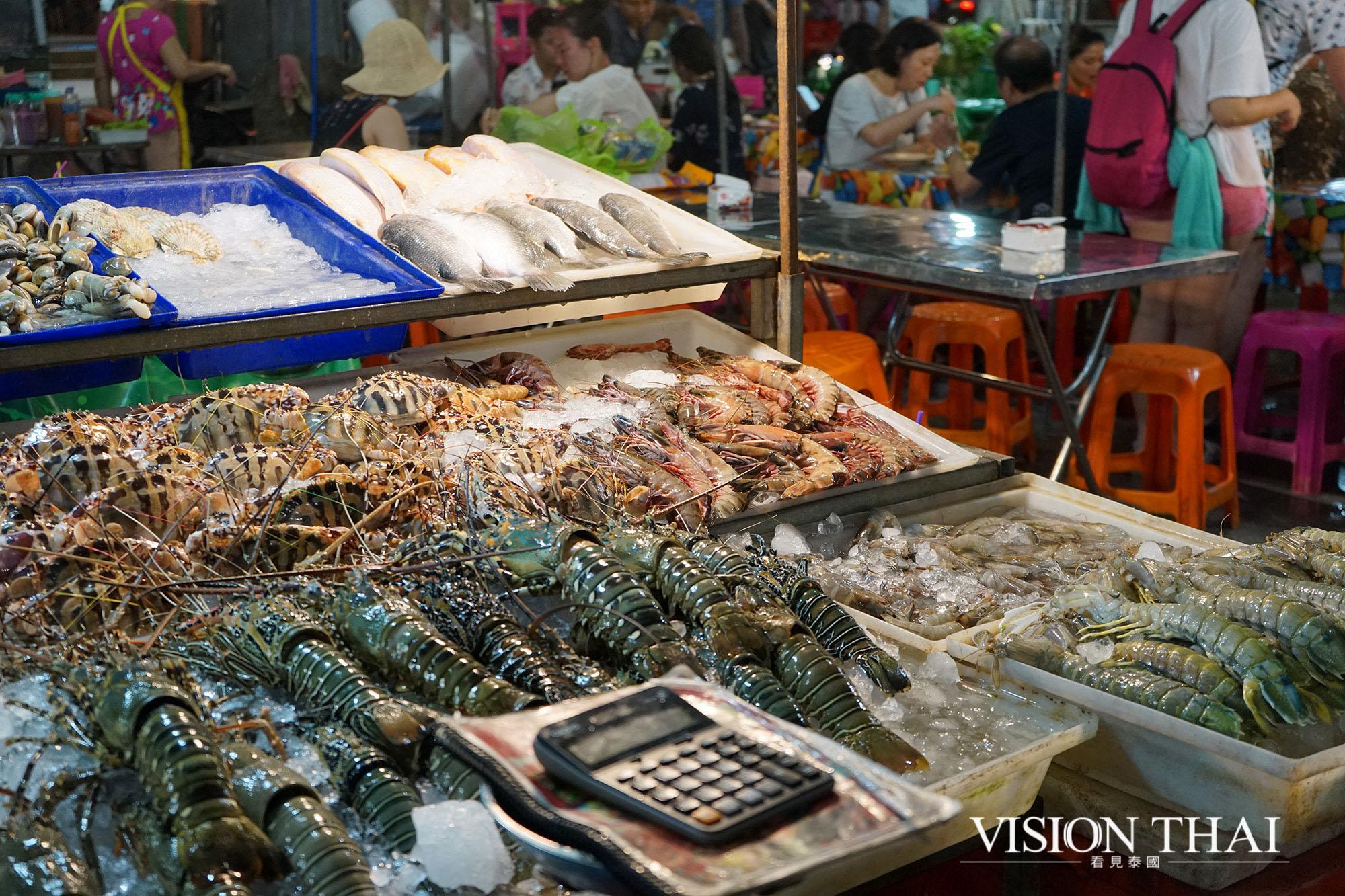 班贊生鮮市場 Banzaan Fresh Market 普吉 海鮮 普吉 海產 普吉 班贊生鮮市場