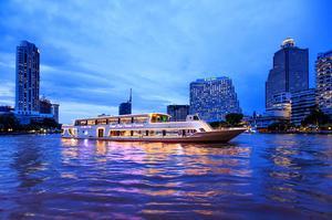 昭披耶公主號 昭披耶河 公主號 曼谷遊船 昭披耶河 晚餐