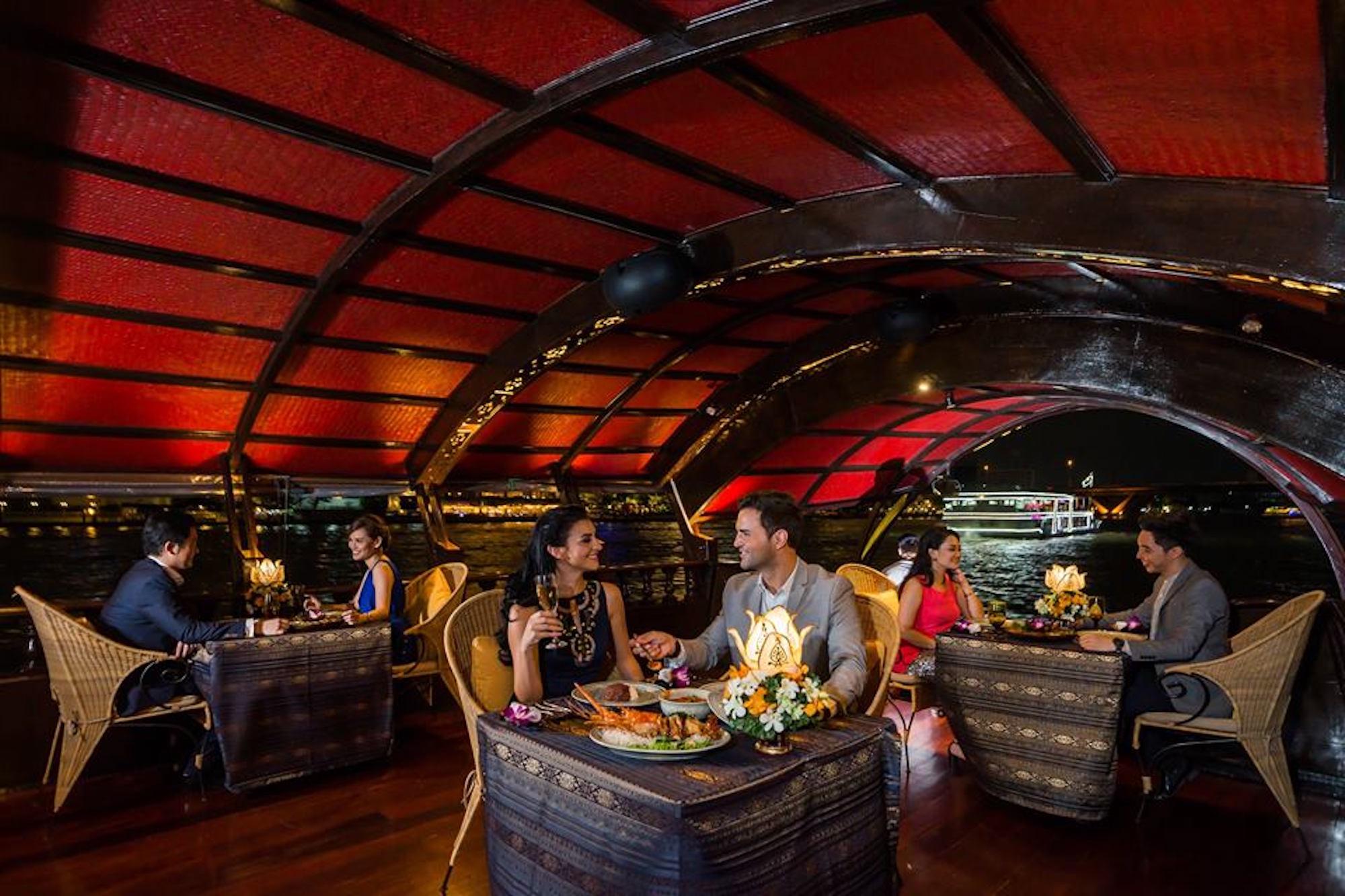 Manohra Dinner Cruise 瑪奴拉號 曼谷遊船 昭披耶河 晚餐 曼谷 昭披耶河
