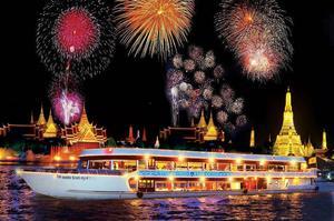白蘭花號 曼谷遊船 曼谷 遊船晚宴 曼谷 人妖秀