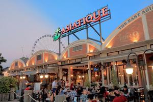 ASIATIQUE The Riverfront ASIATIQUE 曼谷 河濱夜市 曼谷 河岸碼頭