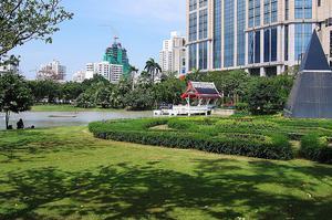 曼谷 班哲希利 班哲希利 公園 Benjasiri Park 水燈節 公園