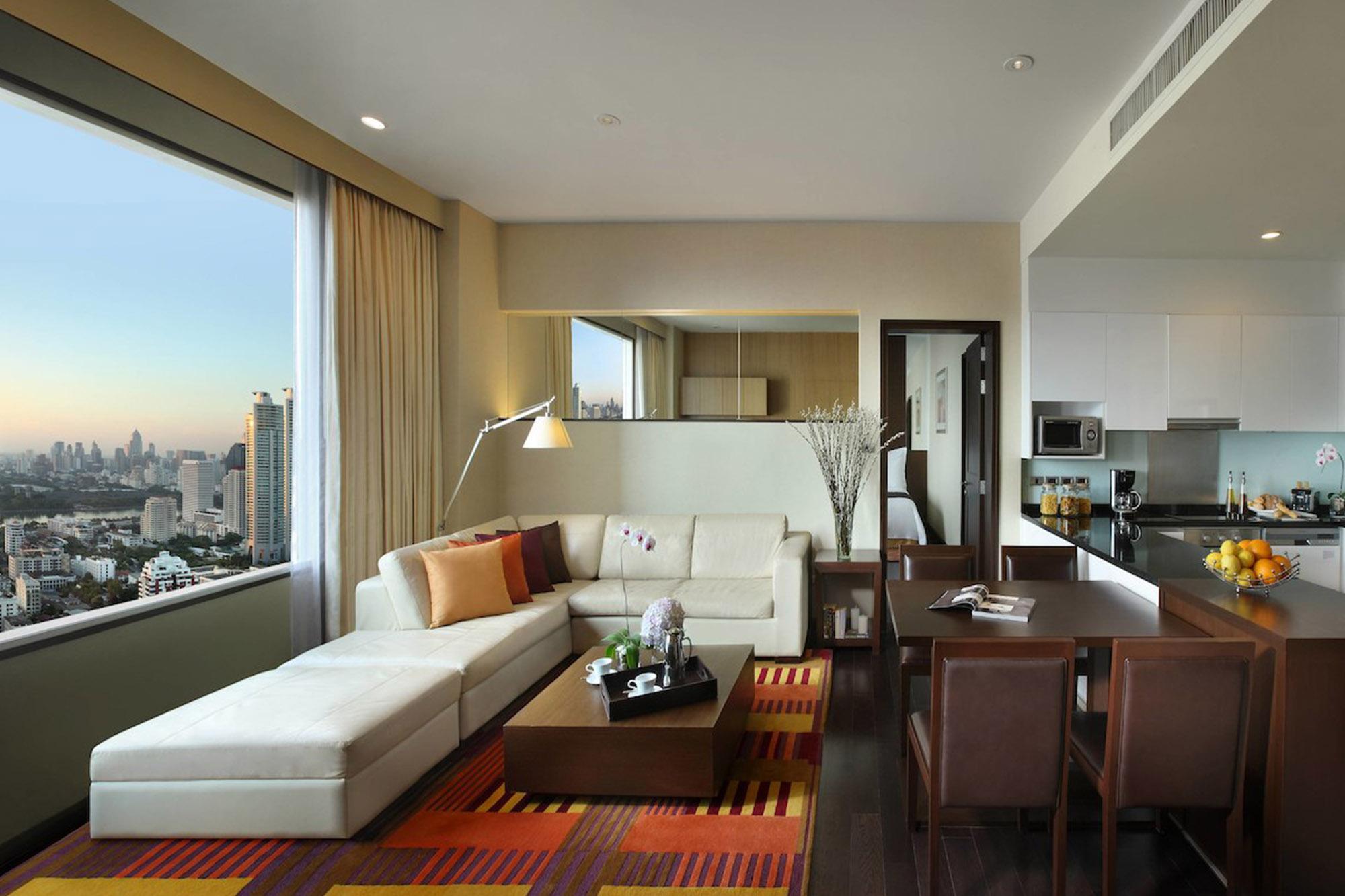 素坤逸公園萬豪行政公寓酒店 sukhumvit-park-bangkok-marriott-executive-apartments 曼谷市區 五星酒店 萬豪行政公寓酒店 Phrom Phong 酒店