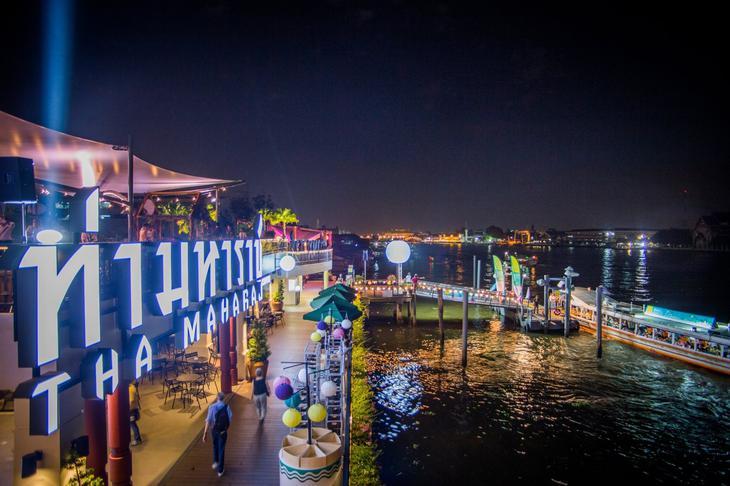 曼谷玛哈拉码头文青市集