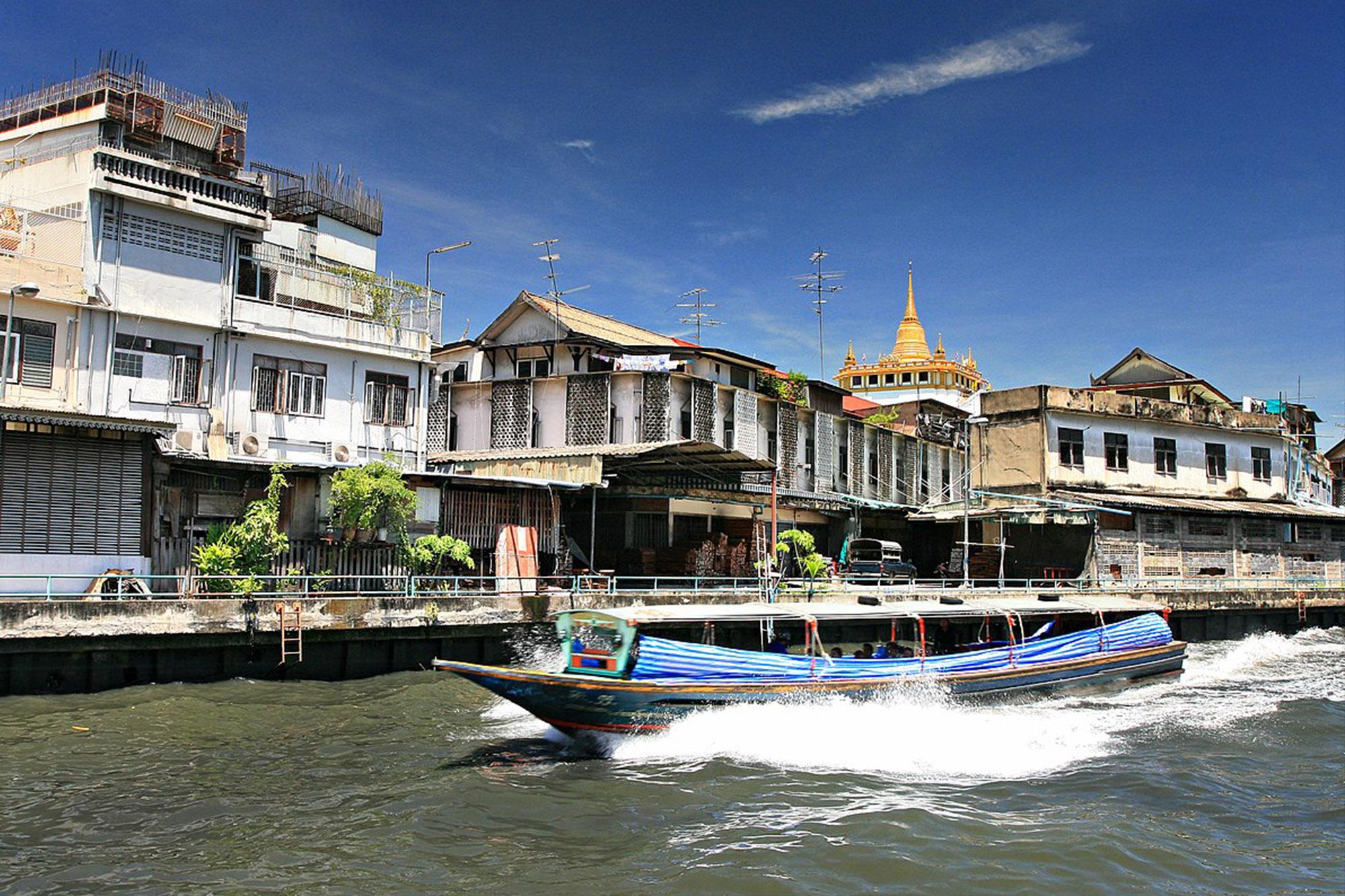 金山寺 Wat Saket 曼谷 金山寺 曼谷 老城景點 曼谷 水燈節