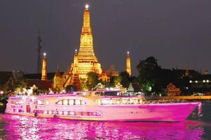 璀璨珍珠號 曼谷遊船 昭披耶河 晚餐 曼谷 昭披耶河