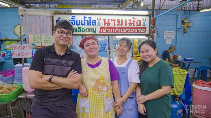 右起為老闆女兒陳如景、老闆Sumalee女士。(VISION THAI 看見泰國)