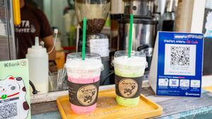 曼谷鬍鬚蝦咖啡店