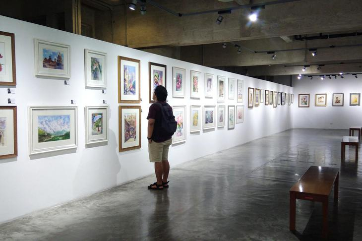 拉差丹农现代艺术中心是曼谷旧城区的重要艺术基地