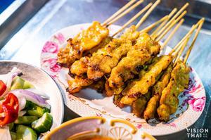 Plaengnam豬肉沙嗲