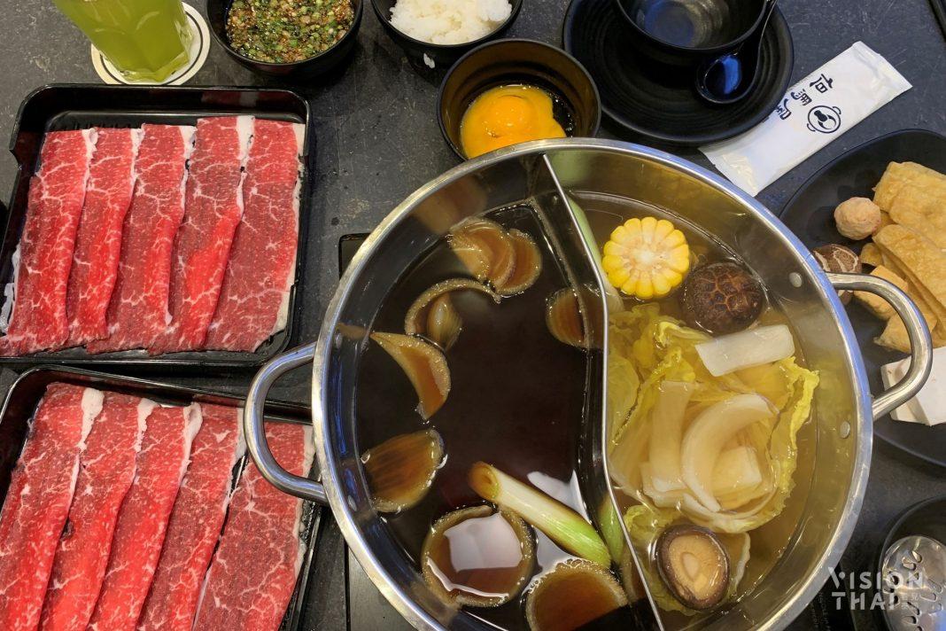 曼谷和牛吃到飽:黑毛和牛壽喜燒特價即日起限定展開 / 影