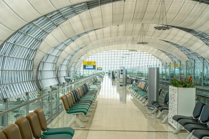 曼谷素汪納普國際機場是泰國重要的國際機場之一(網路圖片)