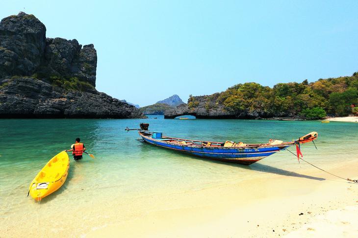 示意圖,蘇美島上有許多漂亮沙灘(圖片來源:TAT泰旅局)