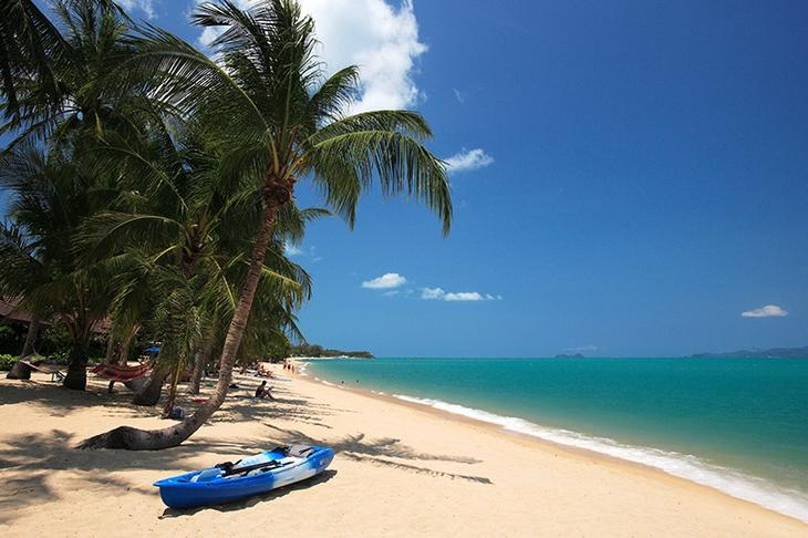 湄南海灘(Maenam Beach)是蘇美島的3大絕美海灘之一(圖片來源:TAT泰旅局)